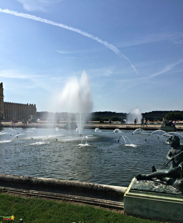 The versailles fountains are beautiful, so make sure they are on during some of your visit. The kids will love them.