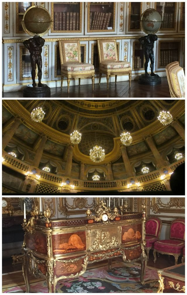 The tour of the private apartments is worth it to both jump the queues with your family and experience some of the more sumptuous parts of the Palace of Versailles that aren't open to the public
