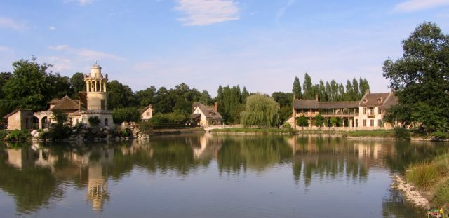 Perfection in Versailles. The glorious Queens Hamlet which even the kids might kid sufficiently peaceful to relax in.