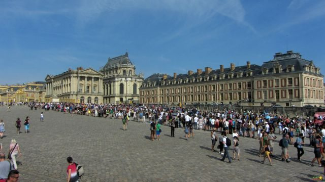Versailles queues are legendary - so be prepared for them; take lots to do with the kids.