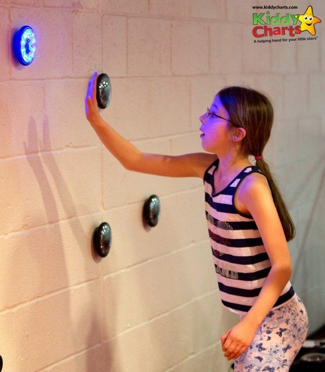 Our favourite game with the Virgin Active Crew session was the Lights reactions game...look at that concentration!