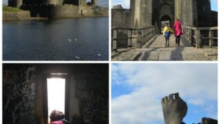 Caerphilly Castle in pictures