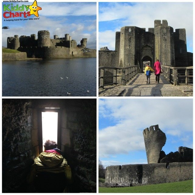 We have had a wonderful time at Caerphilly Castle in South Wales - can't recommend it enough!