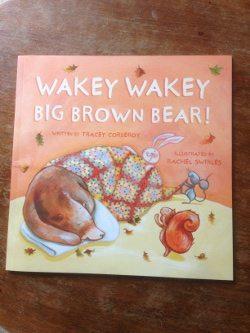 wakey wakey brown bear