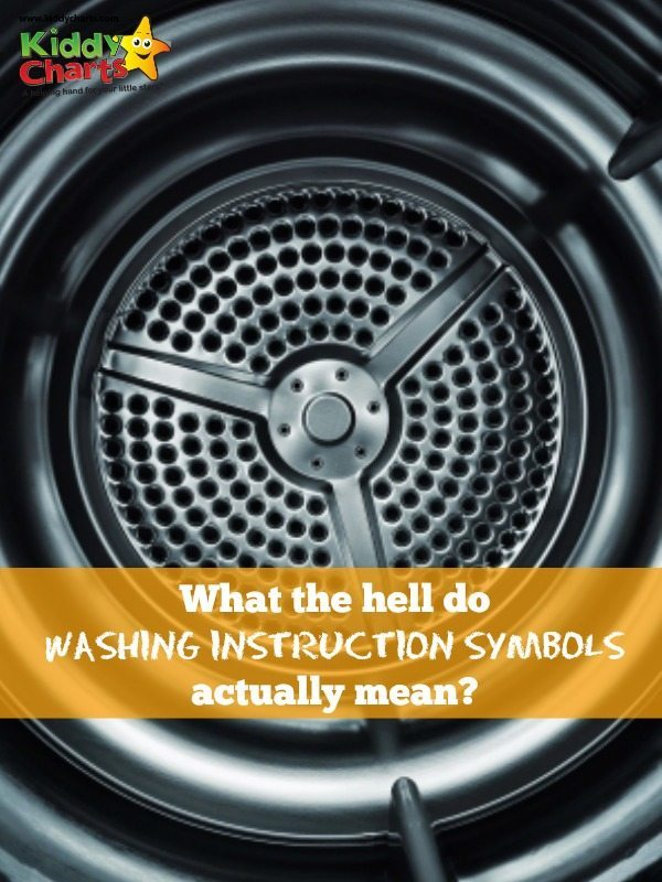 What do washing instruction symbols actually mean - we let you know - now, so nothing gets dyed pink