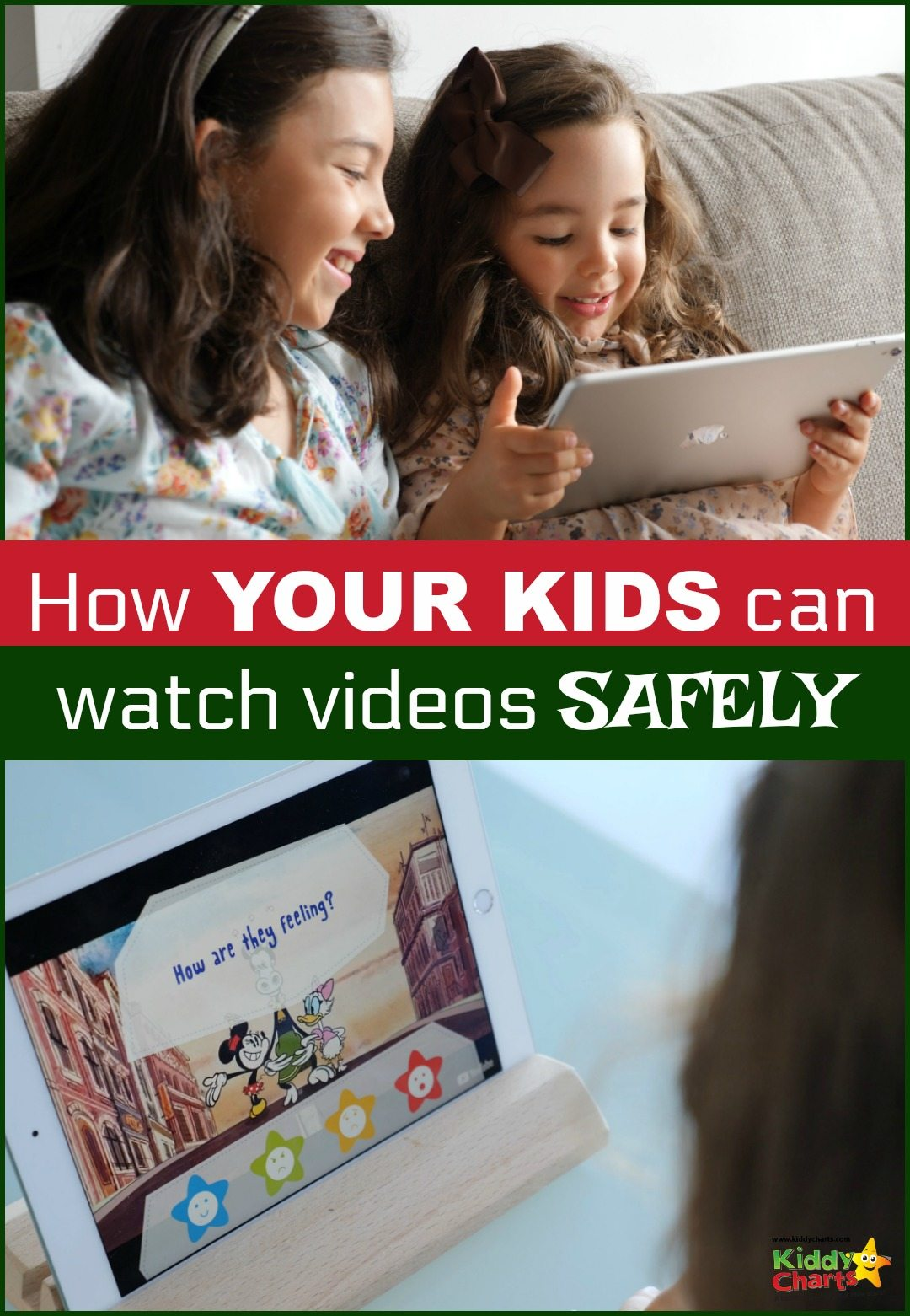 If you want to watch videos online safely with the kids - kiddZtube if for you!