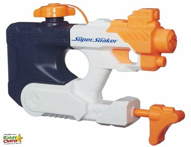A Water toy for the kids that uses a pumping action so they can shoot you from further away. Pop over and take a look if you dare!