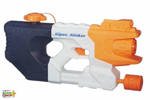 A great water toy for the kids in the garden in the summer; A Nerf Super Soaker Tornado Scream