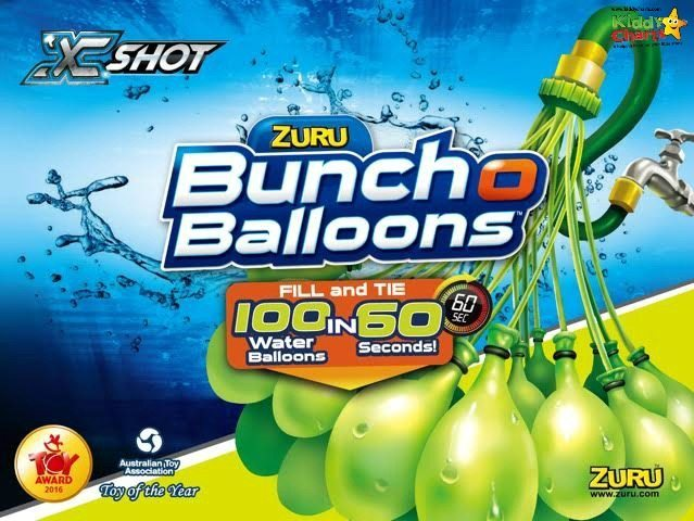 Water Balloon - 100 of them in 60 seconds - brilliant toy for getting out in the garden and having fun. Perfect for summer parties for kids.
