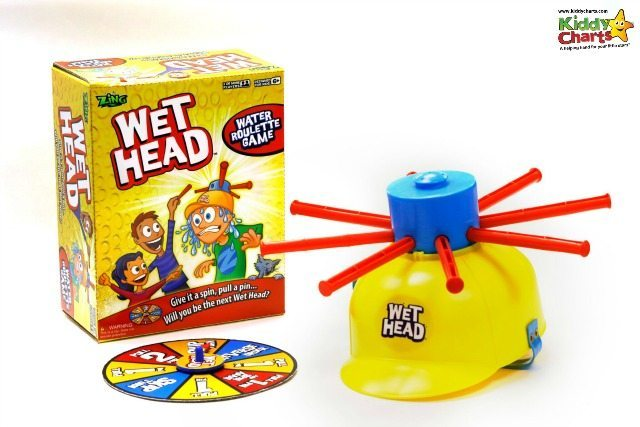 A perfect Water toy for the kids is Wet Head - check it out...its brilliant fun, but make sure you don't get videoed and go viral! ;-)