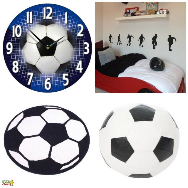 These were the products we choose from Wayfair for our Wayfair review; they have a great selection of football decorations for any football mad little boy or girl!