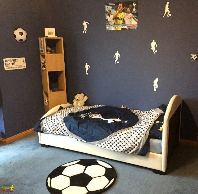 Wayfair helped us get some great football home decorations for Stuntboy - now we need to tackle the rest of the room!