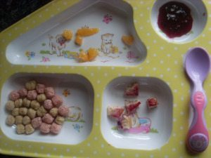 Weaning: Plates made for variety