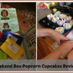 Little Star Presents: The Weekend Box popcorn cupcakes review