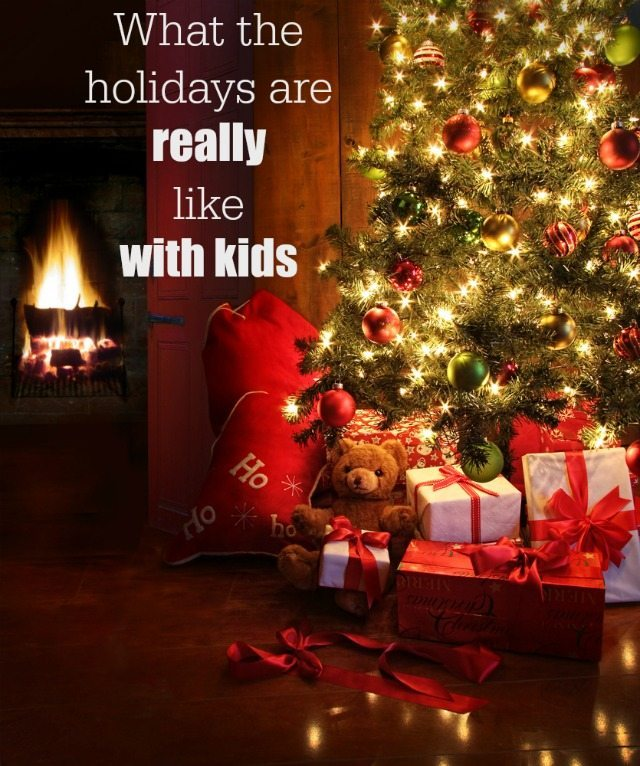 When you have kids, everything changes...here is what the holidays, and Christmas in particular, is like with kids. If you want to raise a smile this Christmas, then this post is for you!