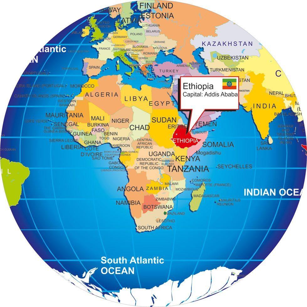 Where is Ethiopia: WordVision IF Campaign