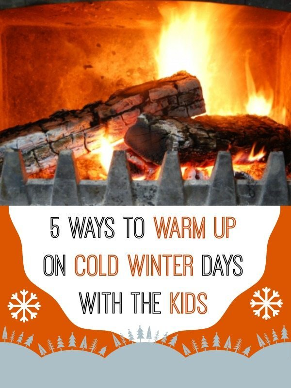 We have five great suggestion for ways to have fun indoors in the winter when its just too cold to venture outside with the kids.