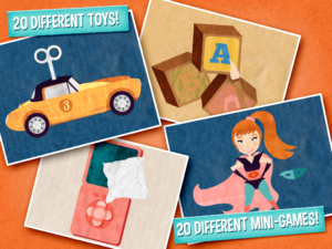 Wombi Toys Review: 20 different mini games for the kids
