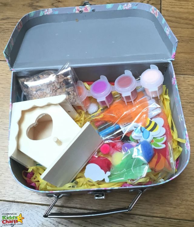 Jacdo craft kits are lovely in that they come in their own little suitcase for your children. A really great little gift idea.