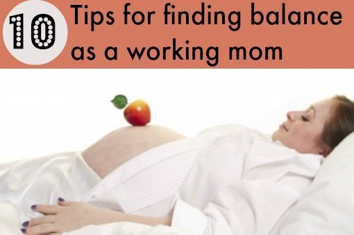 Work at home mom: Finding balance