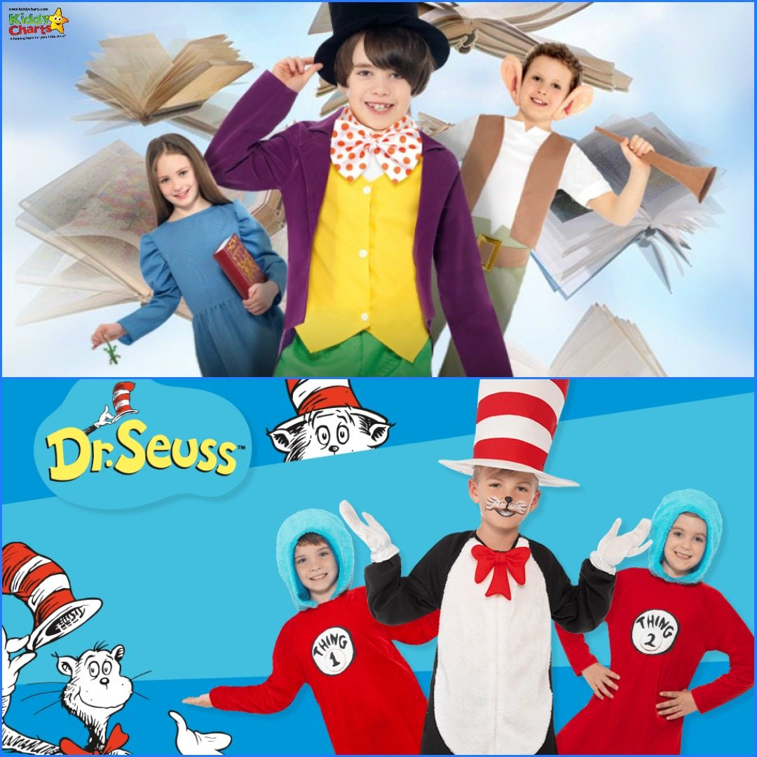 World Book Day costumes - win one so you don't get a World Book Day headache. Closes on 22nd Feb.